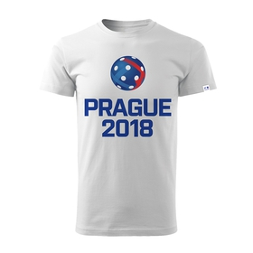 Men´s T-shirt Prague 2018 - white
