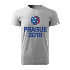 Men´s T-shirt Prague 2018 - grey