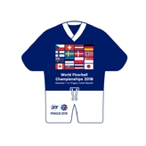 Mini jersey participants WFC Prague 2018