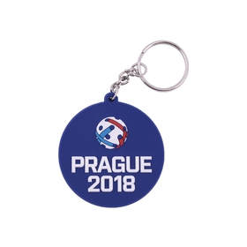 Silicone keychain Prague 2018 + pin free