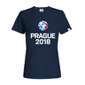 Women's t-shirt Prague 2018 navy